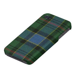 iPhone 4 Savvy Ogilvie Hunting Ancient Tartan iPhone 4/4S Cases