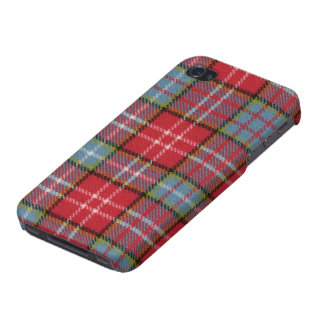 iPhone 4 Savvy Ogilvie Old Rare Ancient Tartan iPhone 4/4S Cases