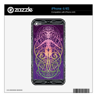 iPhone 4 Skin - Sacred Ecology by C McAllister