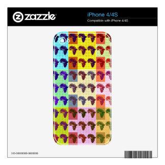 iPhone 4 Skin Template