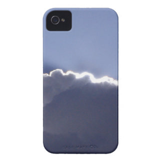 iPhone 4 skin with photo of cloud with silver lini iPhone 4 Cover