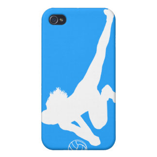 iPhone 4 Speck Case Dig Silhouette White on Blue