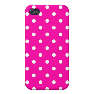 iPhone 4 Speck Case Hot Pink Polka Dot iPhone 4/4S Case