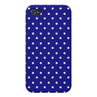 iPhone 4 Speck Case Hot Polka Dot Blue iPhone 4/4S Covers
