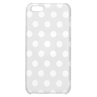 iPhone 4 Speck Case White Polka Dot iPhone 5C Cases