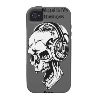 Iphone 4 tough - Metal Is My Business Case-Mate iPhone 4 Cover