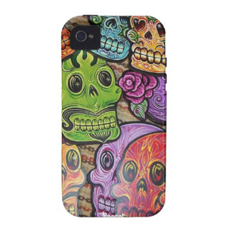 Iphone 4 tough - Mexican Sugar Skulls Case For The iPhone 4