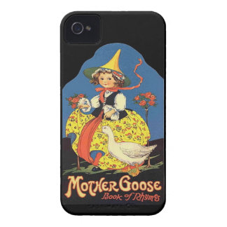 iPhone 4 -Vintage Mother Goose Rhymes illustration iPhone 4 Case-Mate Case