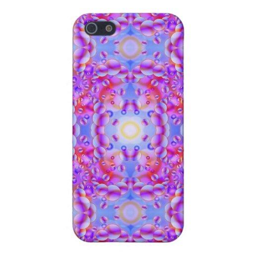iPhone 4 visiones psicodélicas del caso iPhone 5 Carcasa