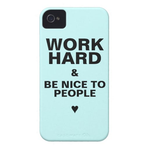 iPhone 4s Case Motivational: Blue