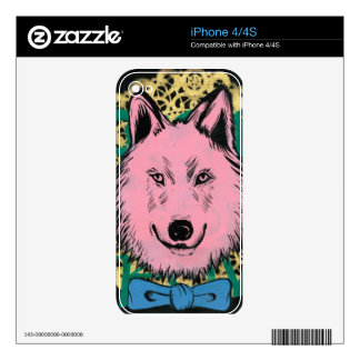 iPhone 4S skin - Custom Art by Adam Reker