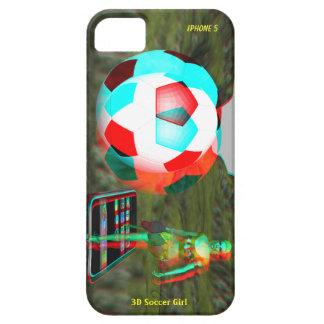 iPhone 5 3D Soccer Girl Case-Mate iPhone SE/5/5s Case