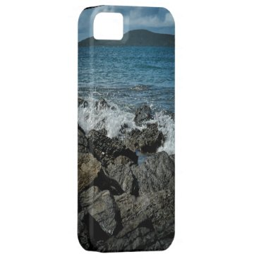 Beach Themed iPhone 5/5S adorne with Buck Island VI Scene iPhone SE/5/5s Case