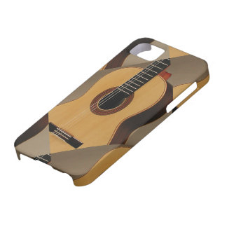 iPhone 5/5S, Barely There con las guitarras iPhone 5 Fundas