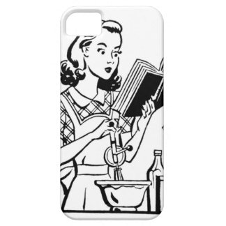 iPhone 5/5S Case, 1950's Woman