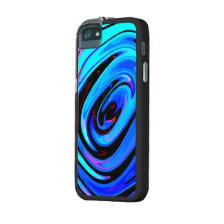 iPhone 5/5S Case, Black, Chrome Finish Clip Blue iPhone 5 Cover