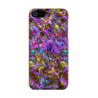 iPhone 5/5s Case Floral Abstract Stained Glass