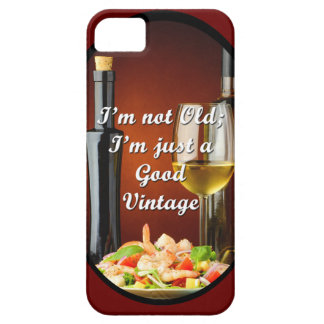 iPhone 5/5S Case for Baby Boomer Wine Lovers