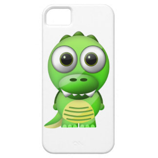 iPhone 5/5S case funny glass effect Crocodile
