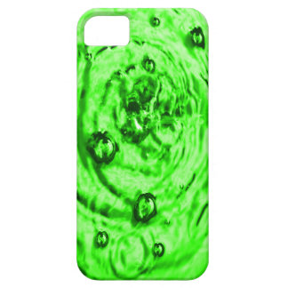 IPHONE 5/5S CASE. GREEN. WATER. BUBBLES. iPhone SE/5/5s CASE