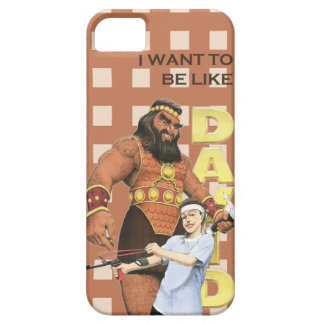 iPhone 5/5S Case - I Want To Be Like David - Male