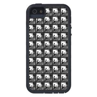 iPhone 5/5s Case Pop Art Giant Pandas B&W