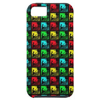 iPhone 5/5s Case Pop Art Giant Pandas Colorful