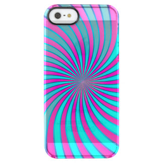 iPhone 5/5s Case Spiral Vortex Uncommon Clearly™ Deflector iPhone 5 Case