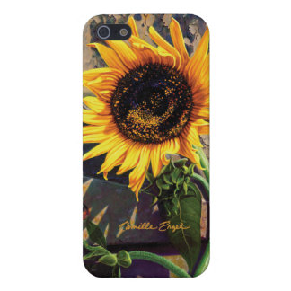 "iPhone 5/5S case ""Sunflower"" by Camille Engel"