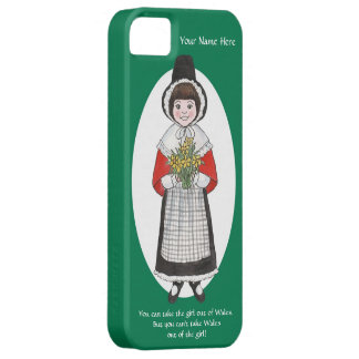 iPhone 5/5s Case to Personalize, Welsh Girl