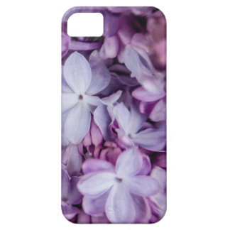 iPhone 5/5s Case with Purple Floral Design