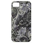 iphone 5/5s case with unique batik pattern#09