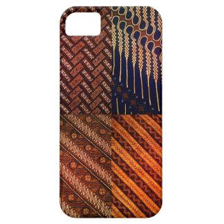 iphone 5 5s case with unique batik pattern 101