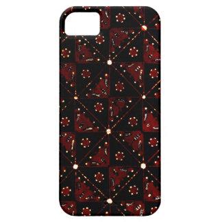 iphone 5/5s case with unique batik pattern#90