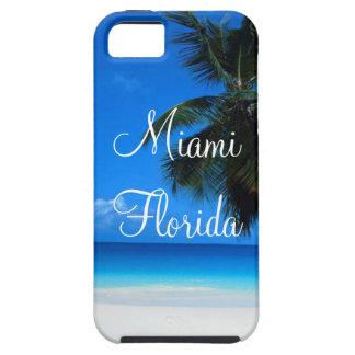 iPhone 5/5S, caso de Miami la Florida del ambiente