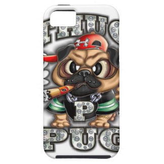 Iphone 5/5S cover, Thug Pug iPhone SE/5/5s Case