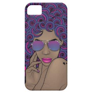 iPhone 5 5S de la princesa de Nubian iPhone 5 Case-Mate Cobertura