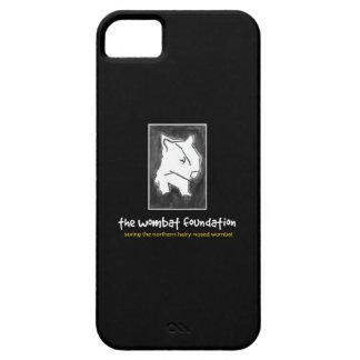 iPhone 5/5S del negro del logotipo de la fundación iPhone 5 Fundas