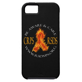 iPhone 5/5S Flame Ribbon Case iPhone 5 Case
