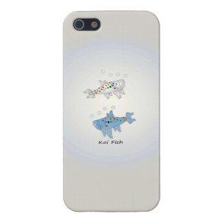 iPhone 5/5S Glossy Finish Case With Koi Fish iPhone 5 Cover