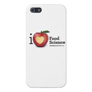 """iPhone 5/5S """"I Heart Food Science"""" Phone Case Covers For iPhone 5"""