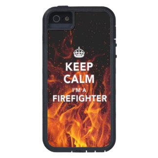 iPhone 5 5S Keep Calm I m a Firefighter Case iPhone 5/5S Cases