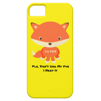iPhone 5 / 5S Phone Case - Don't Use My Fur