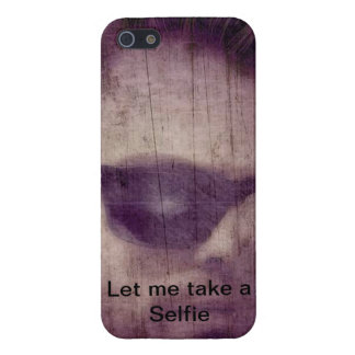 iPhone 5/5s Phone case with Selfie theme