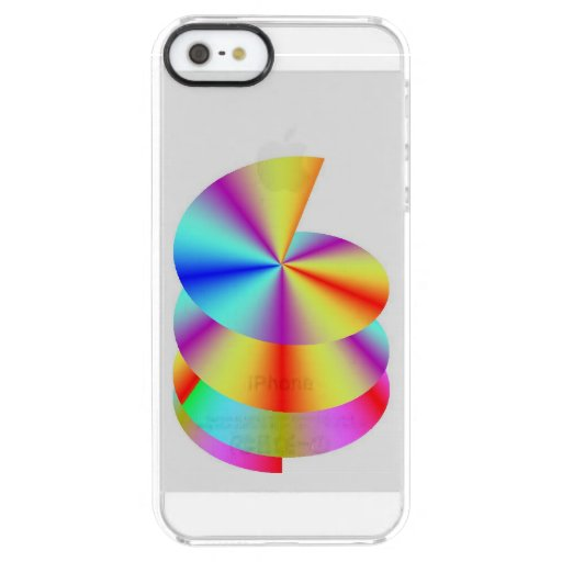 iPhone 5/5s  Rainbow Helix Case Uncommon Clearly™ Deflector iPhone 5 Case