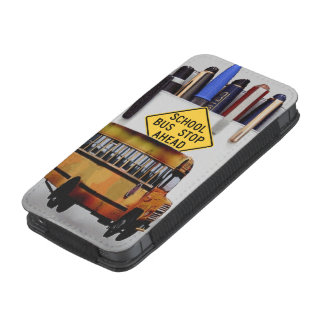 iphone 5/5s school bus driver iPhone 5 pouch