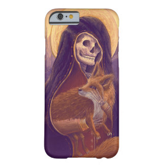 iPhone 5/5S, Skeleton&Fox art Barely There iPhone 6 Case