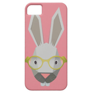 iPhone 5/5S Slim case Funny Bunny