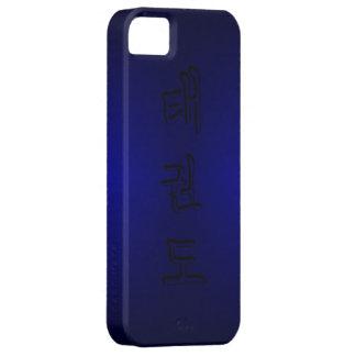 iPhone 5/5S: TaeKwonDo 태권도 (Korean Hangul) iPhone SE/5/5s Case