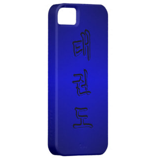 iPhone 5/5S: TaeKwonDo 태권도 (Korean Hangul) iPhone SE/5/5s Case